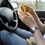 4000 Calorieën per week eten in de auto
