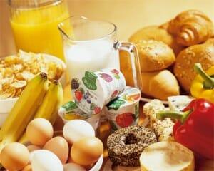ontbijt en afvallen