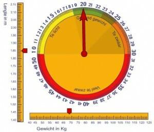 Een BMI bepaler