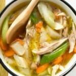 Afvaltip: Langzaam eten en eet meer soep en salades