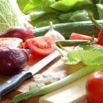 Gebruik bij voorkeur verse of vers ingevroren groenten
