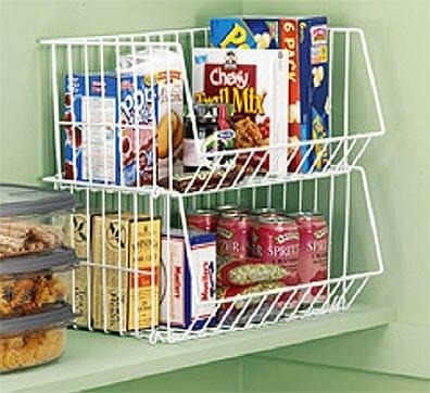 Keukenkast en keldertrap opnieuw indelen