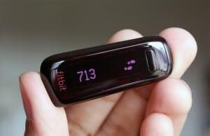 Stappenteller van Fitbit
