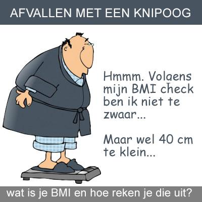 BMI check met een knipoog