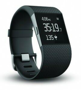 Een Fitbit Surge sporthorloge