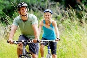 Mountainbiken en afvallen